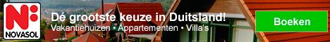 NOVASOL Vakantiehuizen in Duitsland